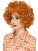 Orange Curly Afro Wig - Party Savers