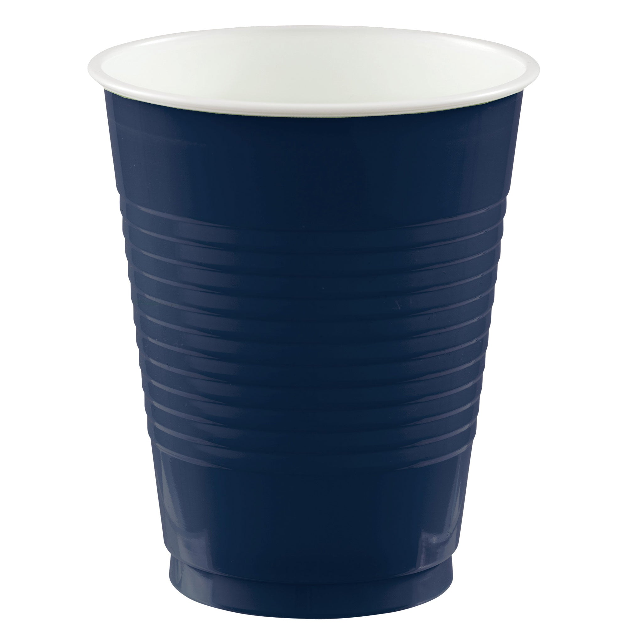 Big Party Pack Plastic Cups Navy 473ml 50pk - Party Savers