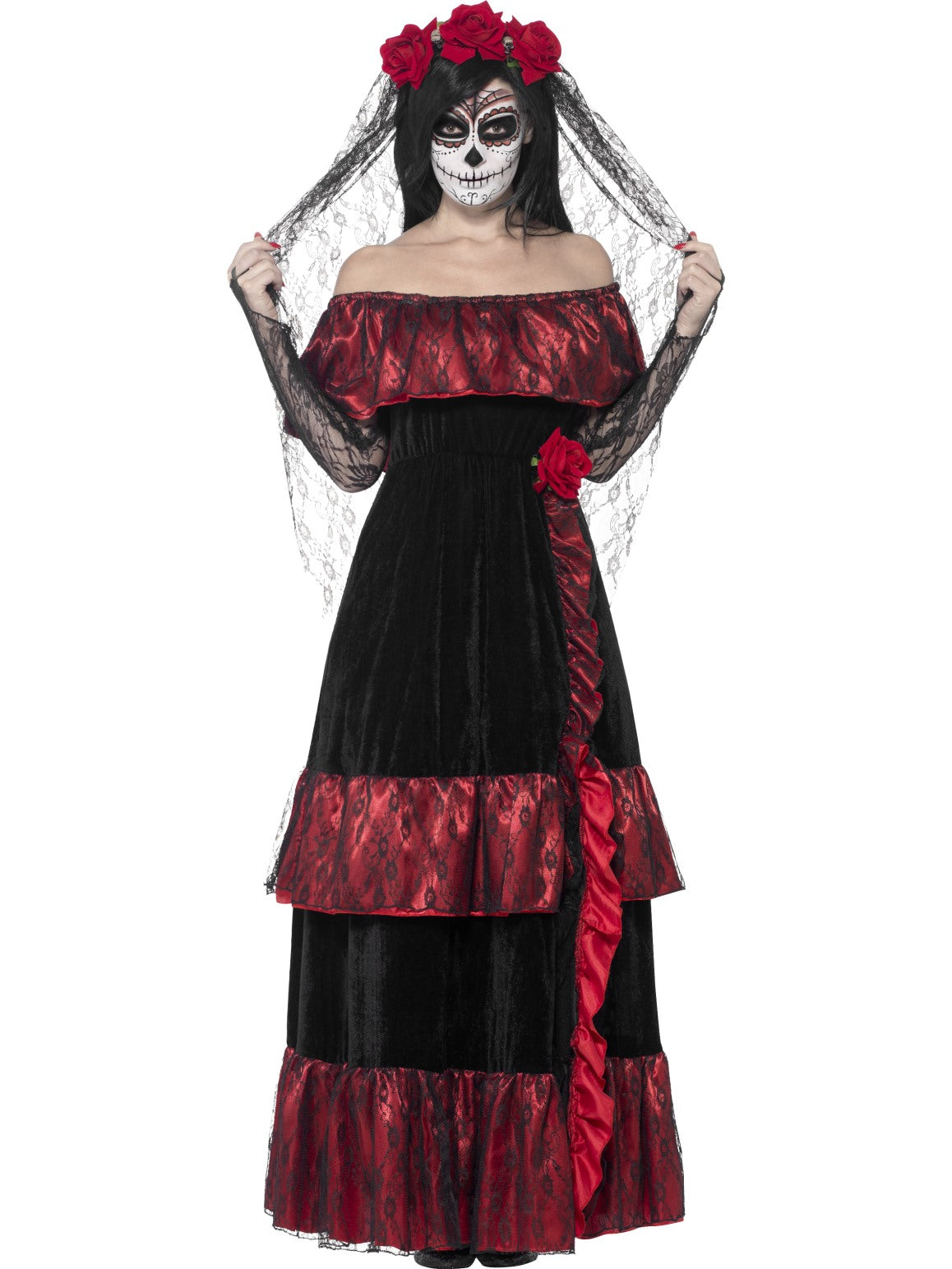 Womens Costume - Day of the Dead Bride