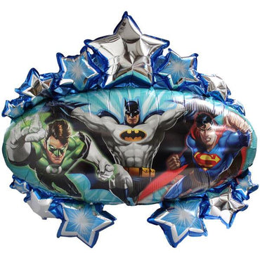 Justice League Marquee Foil Balloon 78cm
