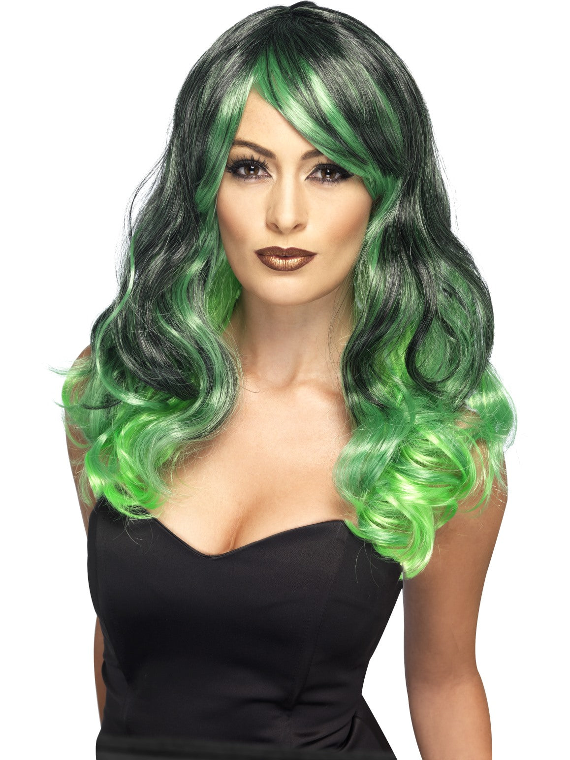 Green Ombre Wig - Party Savers