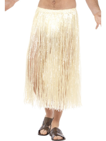 Natural Hawaiian Hula Skirt Long
