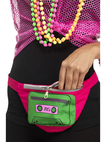 Multi Coloured 80s Bumbag