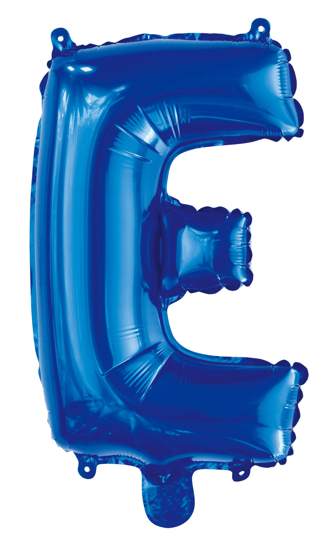 Letter E Royal Blue Foil Balloon 35cm