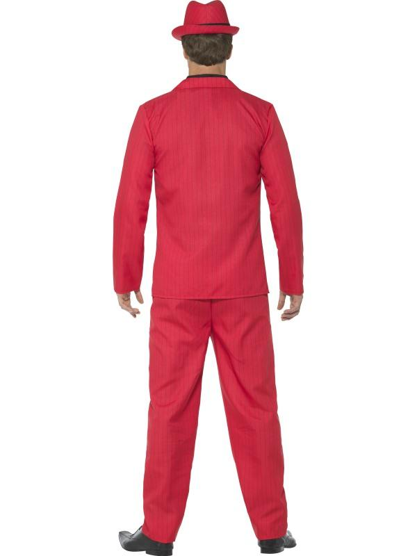 Mens Costume - Red Zoot Suit