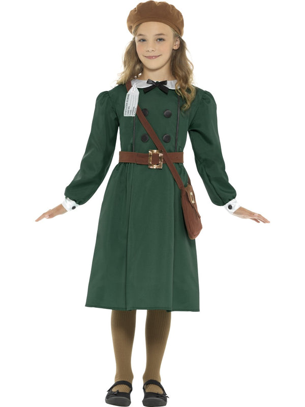 Girls Costume - WW2 Evacuee Girl