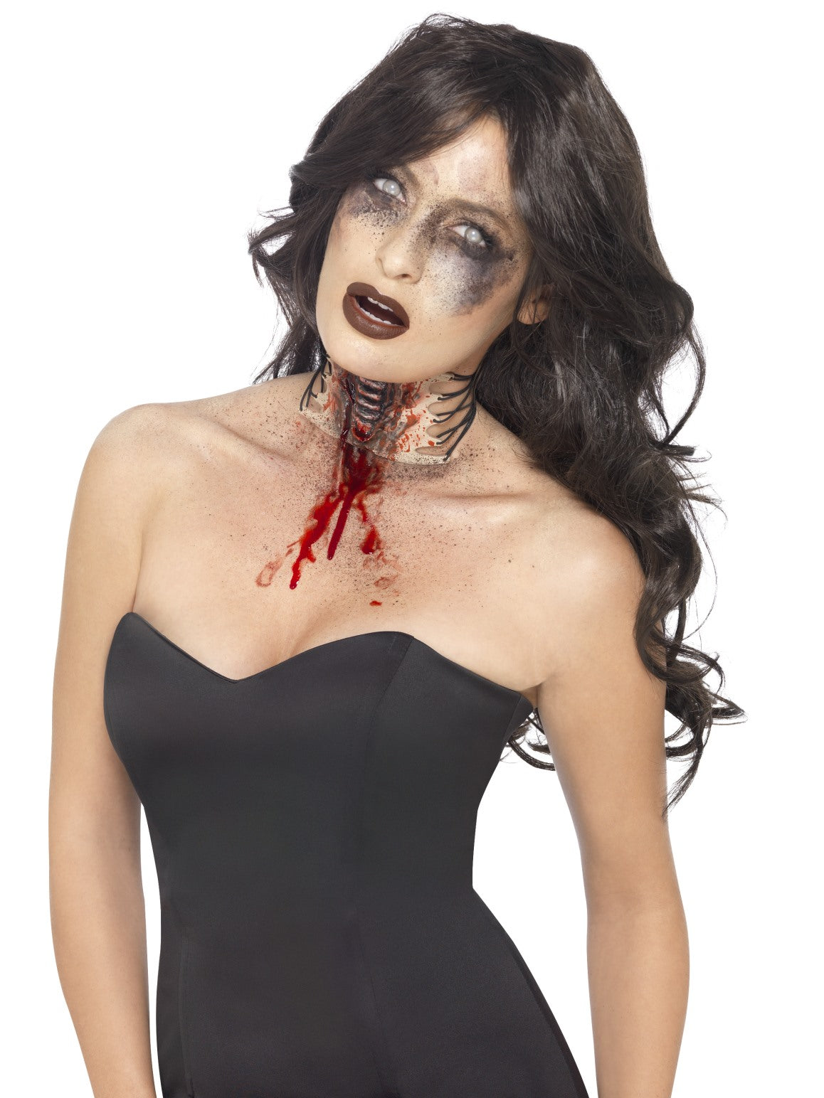 Nude Zombie Exposed Throat Wound - Party Savers