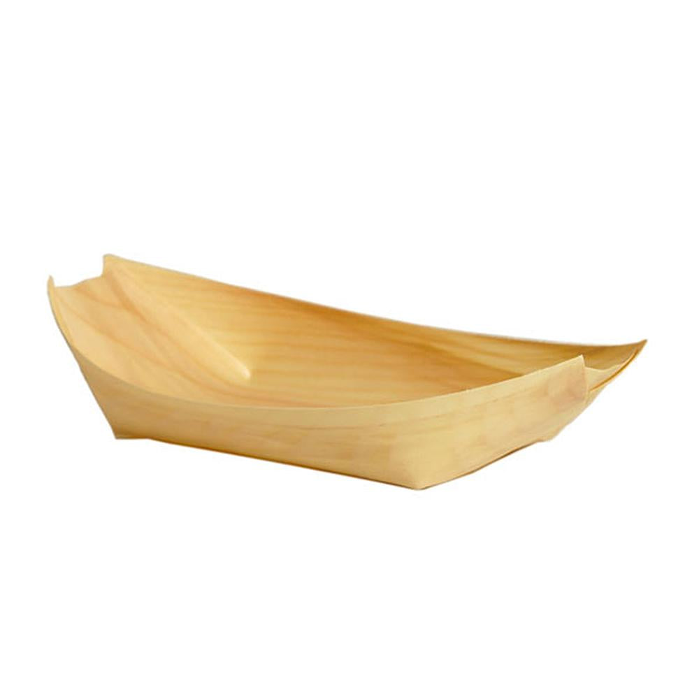 Wooden Boats 22cm 50pk - Party Savers