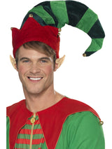 Green Plush Elf Hat - Party Savers