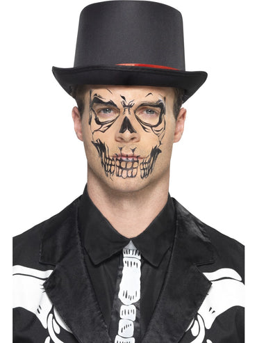 Skull Face Tattoo Transfer - Party Savers