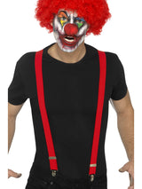 Red Clown Braces - Party Savers