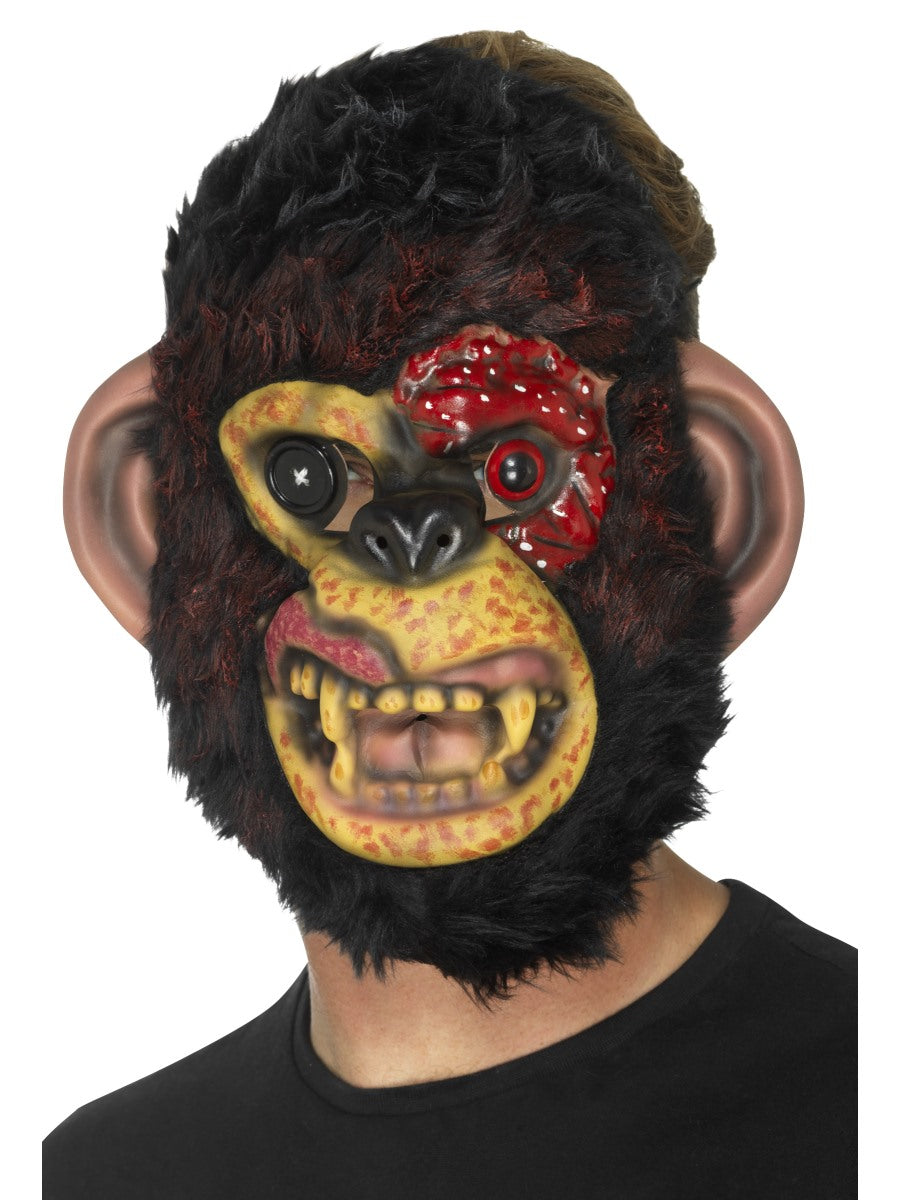 Zombie Chimp Mask - Party Savers