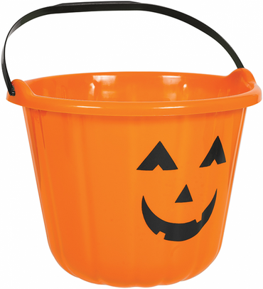 orange-pumpkin-plastic-bucket