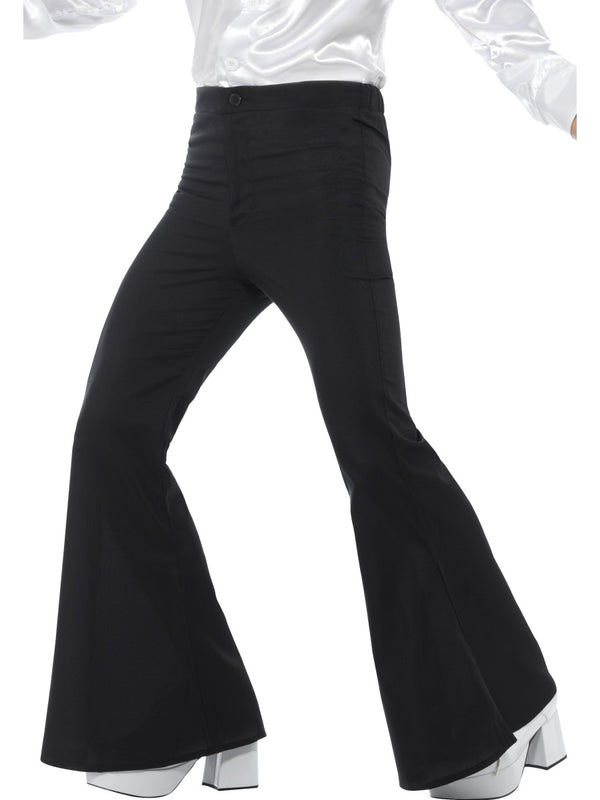 Mens Costume - Black Flared Trousers