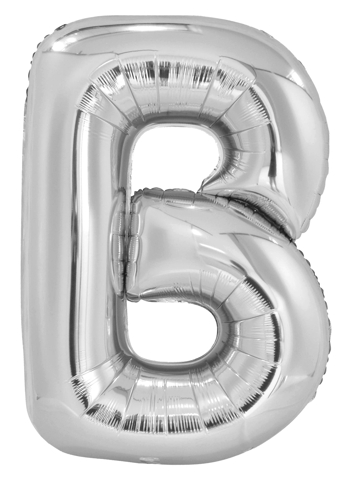 Letter U Silver Foil Balloon 86cm - Party Savers