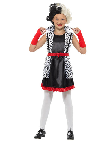 Girls Costume - Evil Little Madame