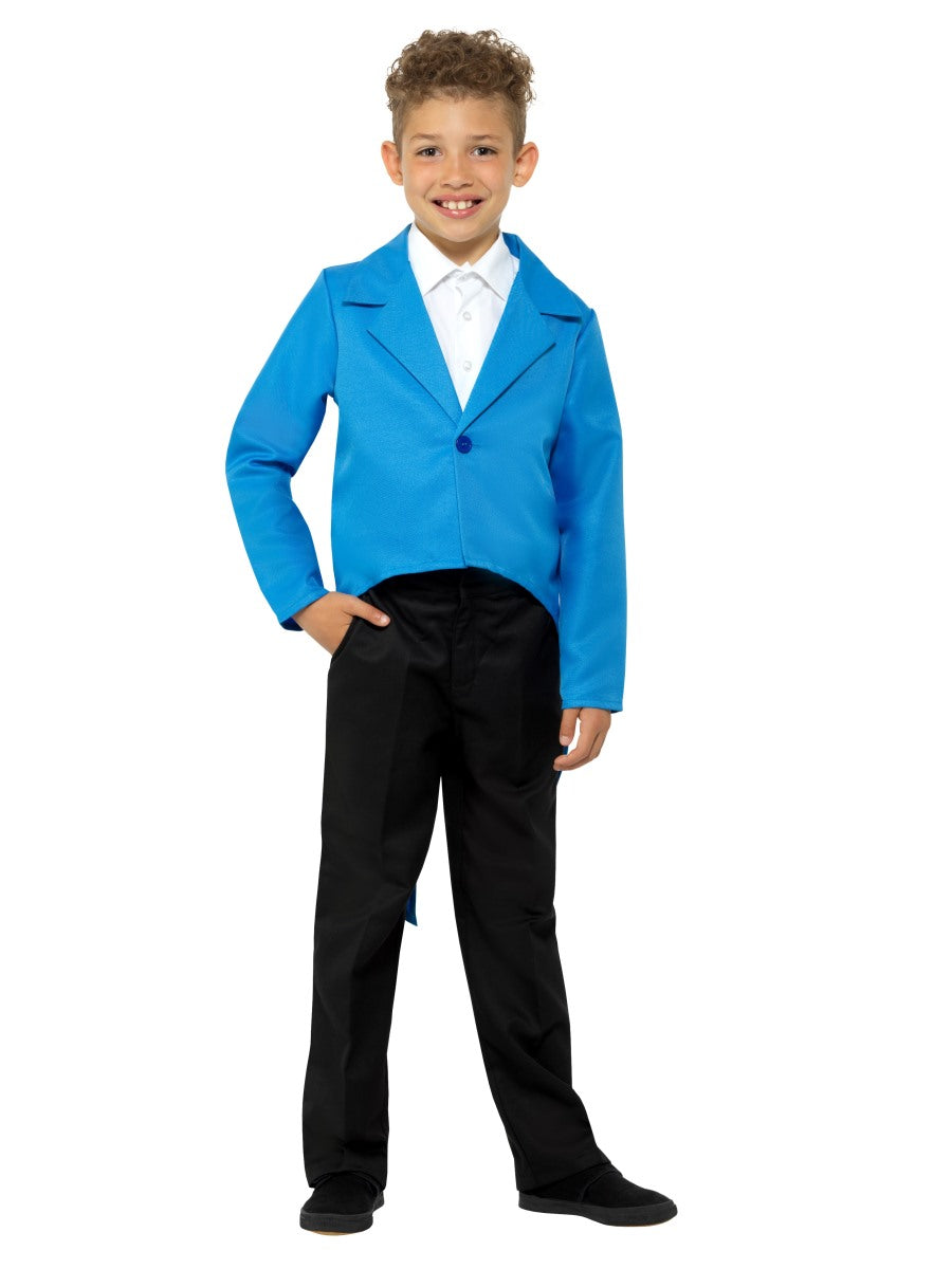 Boys Costume - Blue Tailcoat - Party Savers
