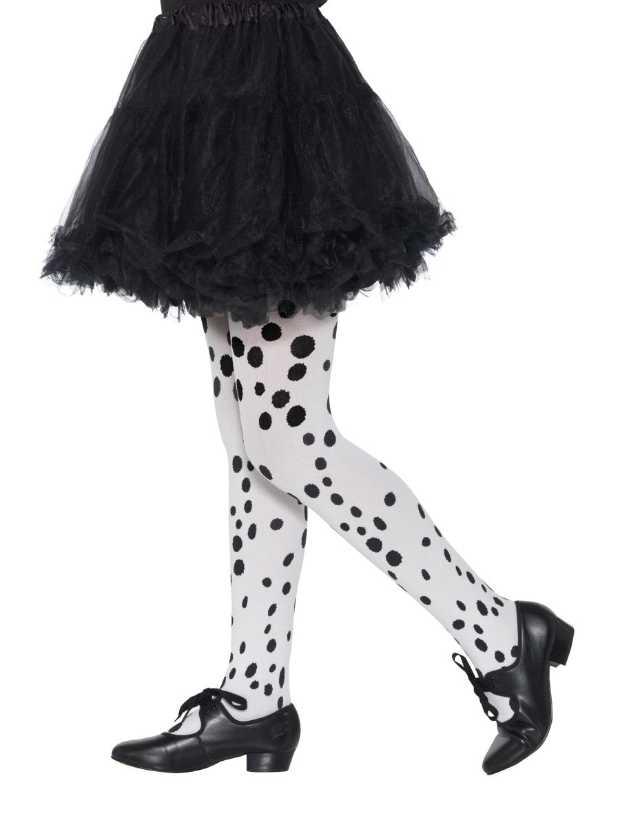 Black Dalmatian Tights