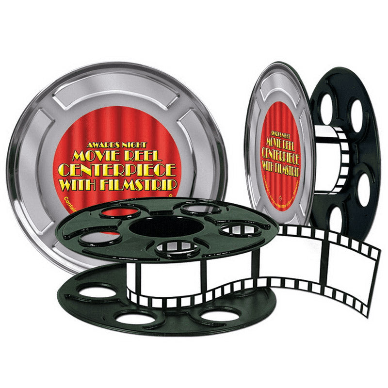 Movie Reel with Filmstrip Centerpiece 9in - Party Savers