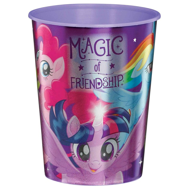 My Little Pony Friendship Adventures Metallic Cup 473ml - Party Savers