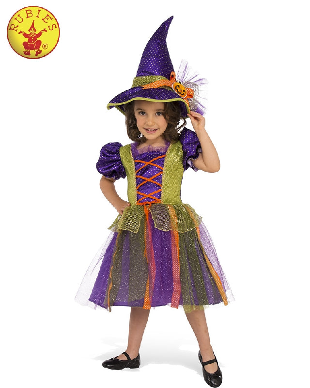 Girls Costume - Pumpkin Witch