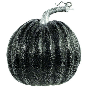 pumpkin-prop-medium-black-with-silver-crackle