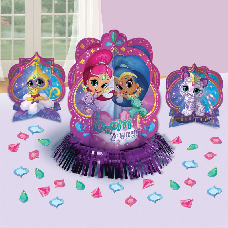 Shimmer and Shine Table Decoarting Kit