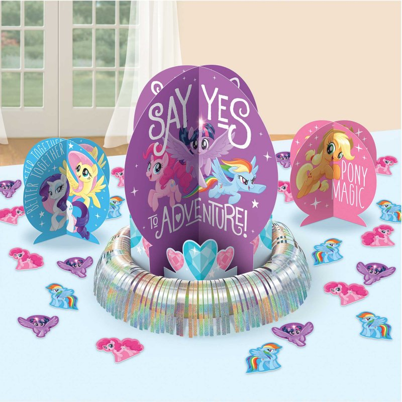 My Little Pony Friendship Adventures Table Decorating Kit