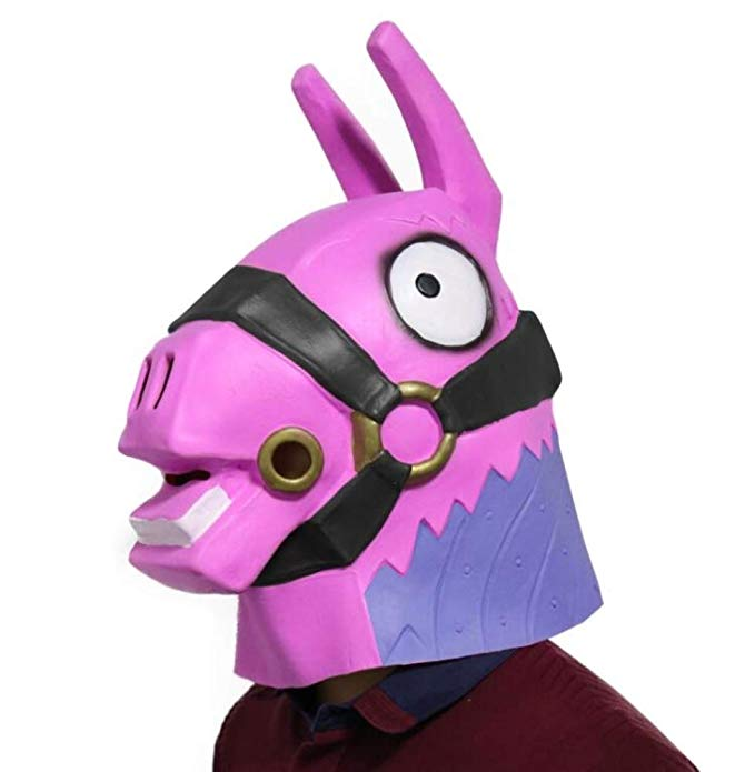 Fortnite Game Mask Pink Donkey