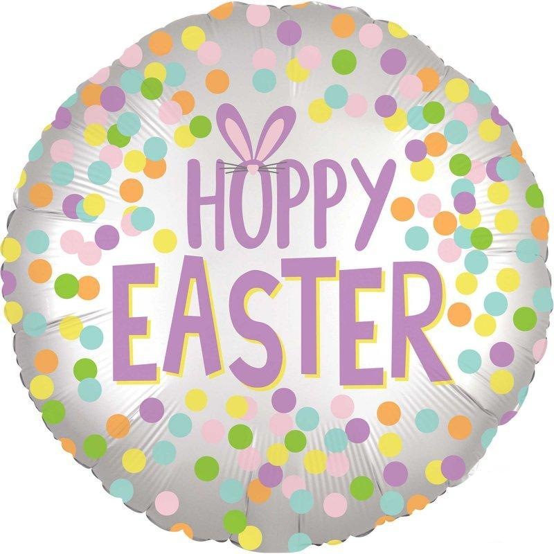 Easter Satin Foil Balloon