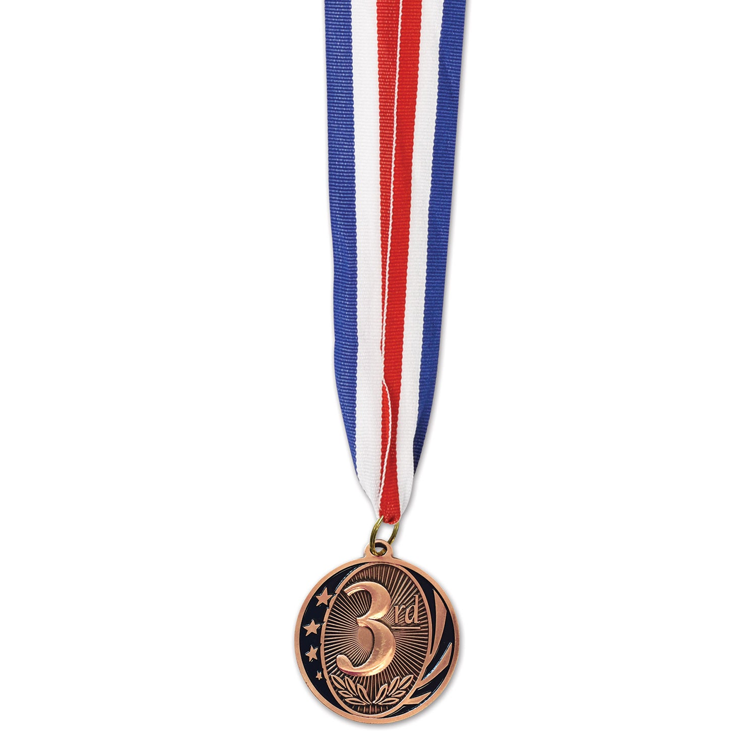 3rd Place Medal With Ribbon 5cm