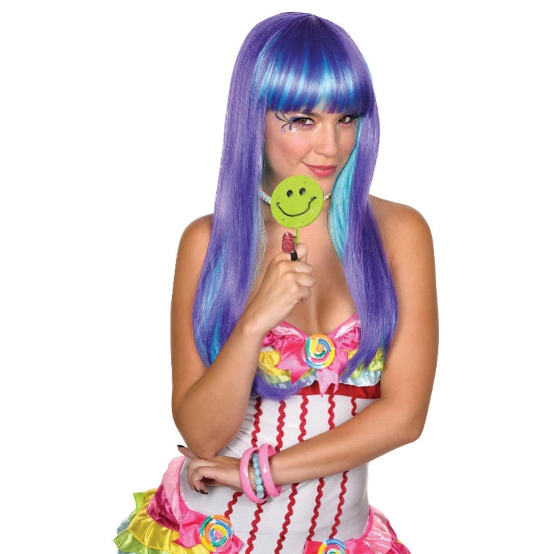 Candy Babe Purple Wig - Party Savers