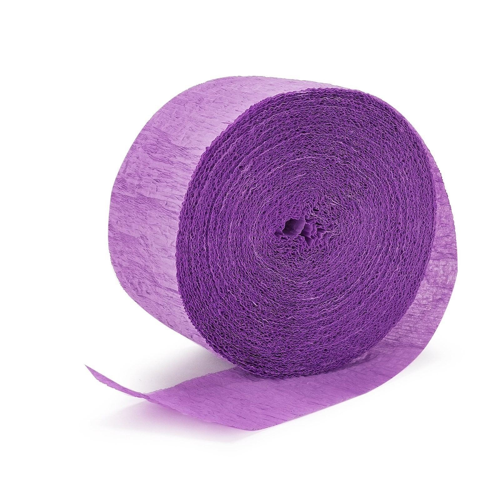 Lavender Crepe Streamer 24m - Party Savers