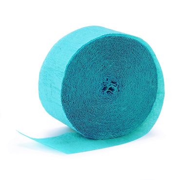 Teal Crepe Streamer 30m