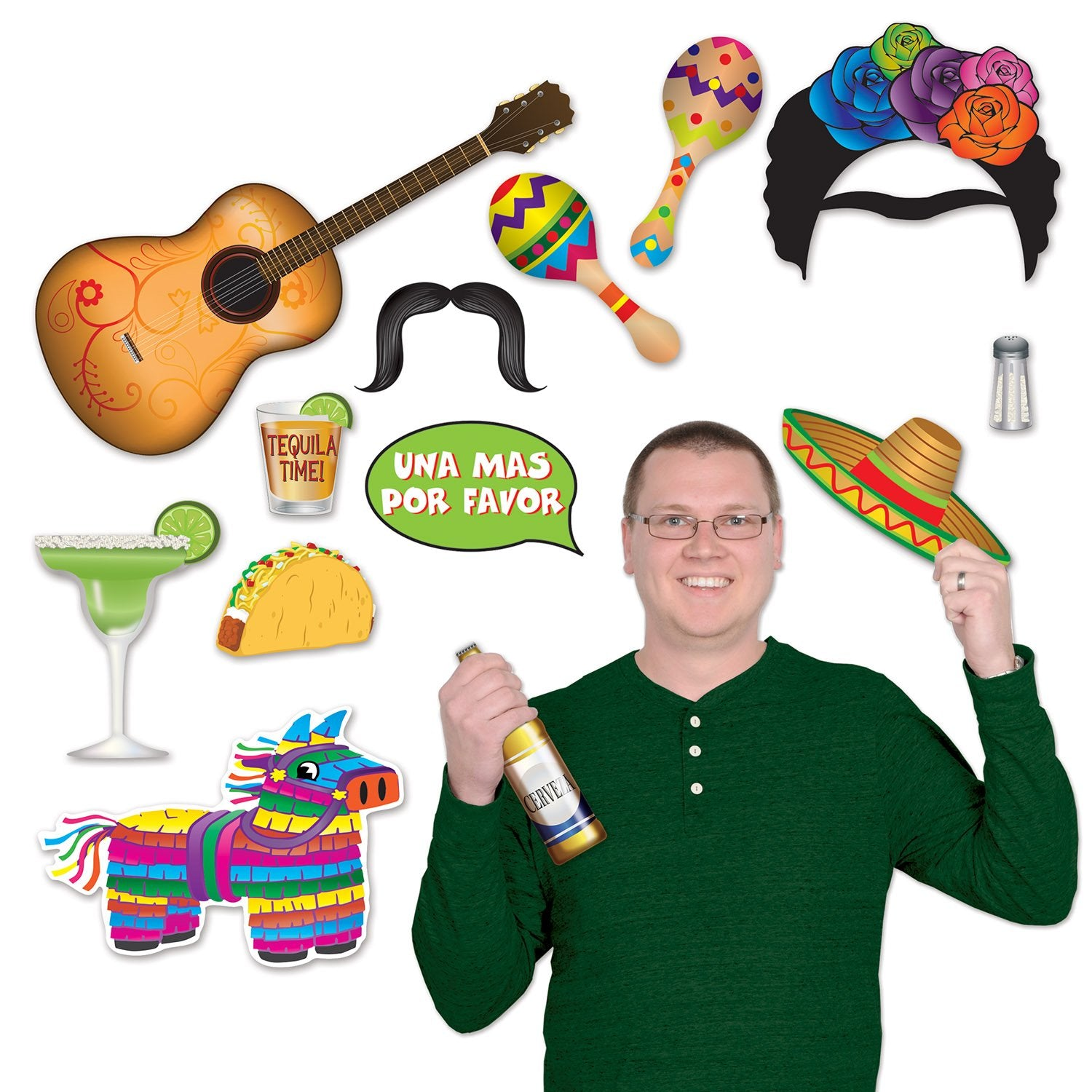 Fiesta Photo Fun Signs - Party Savers