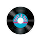 Rock & Roll Record Coasters 8pk - Party Savers