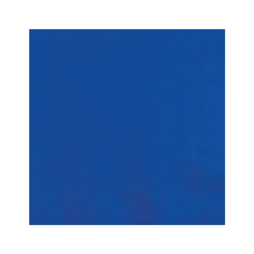 Royal Blue Beverage Napkins 20pk