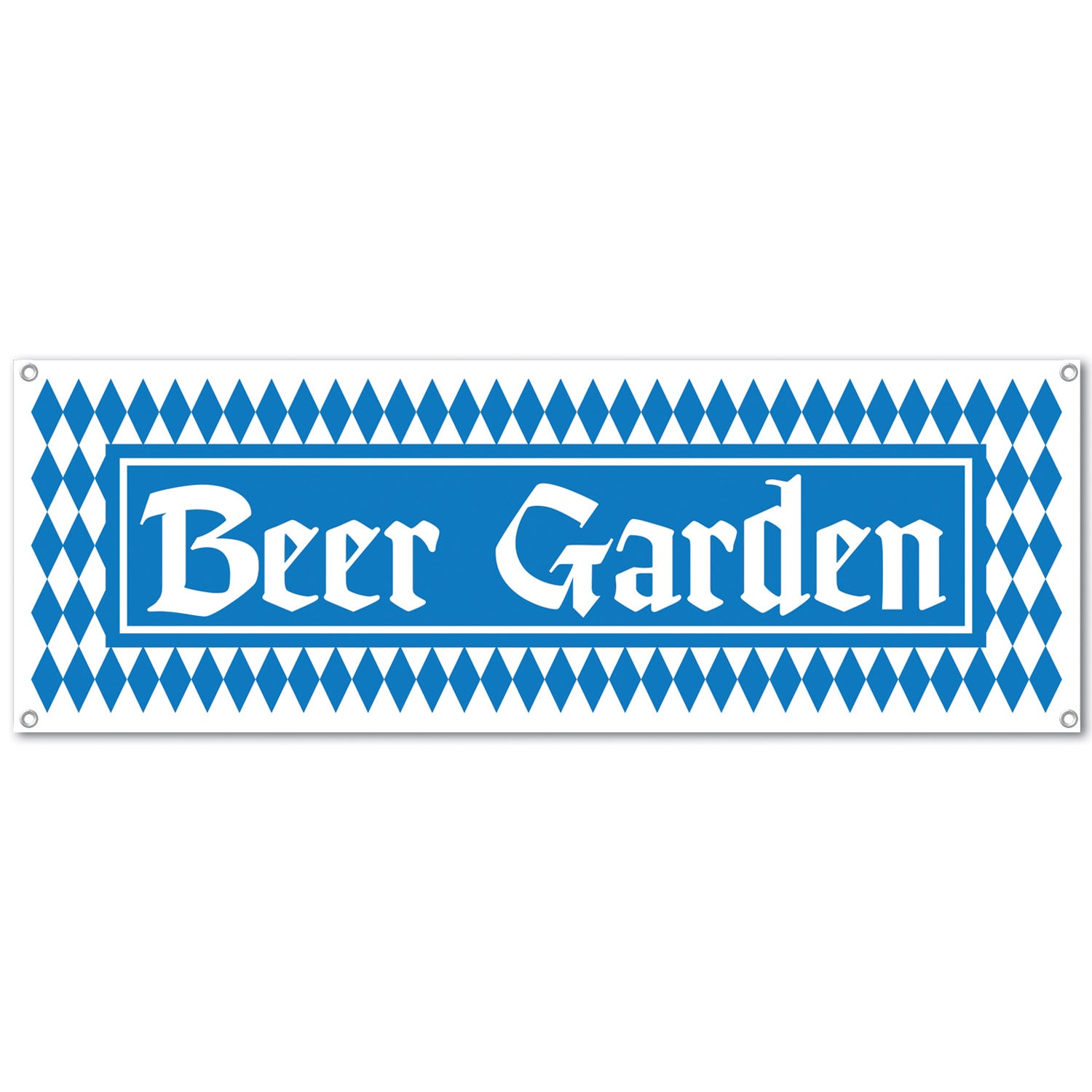 Beer Garden Sign Banner 5ft x 21in Each - Party Savers