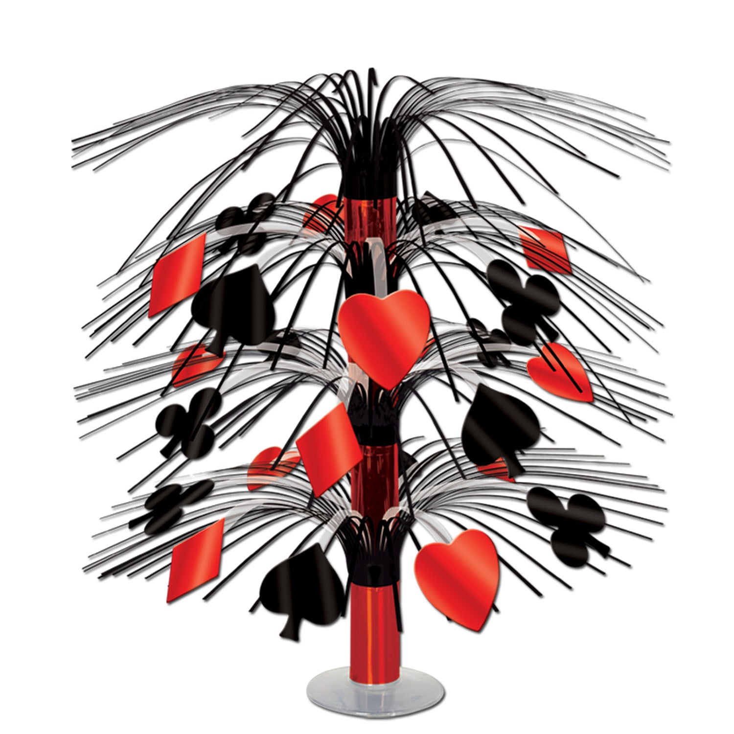 Casino Cascade Centerpiece 46cm - Party Savers
