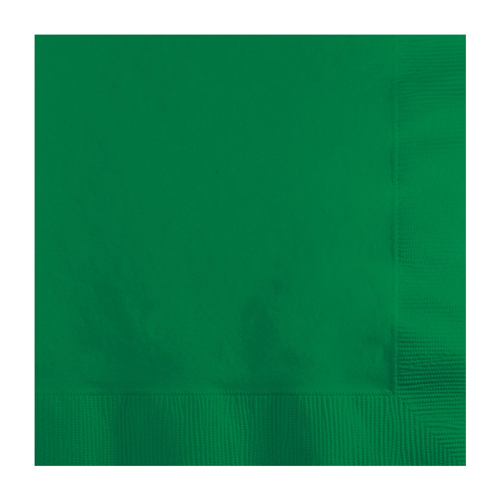 Green Lunch Napkins 33cm x 33cm 20pk - Party Savers