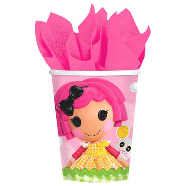 Lalaloopsy Paper Cups 266ml 8pk