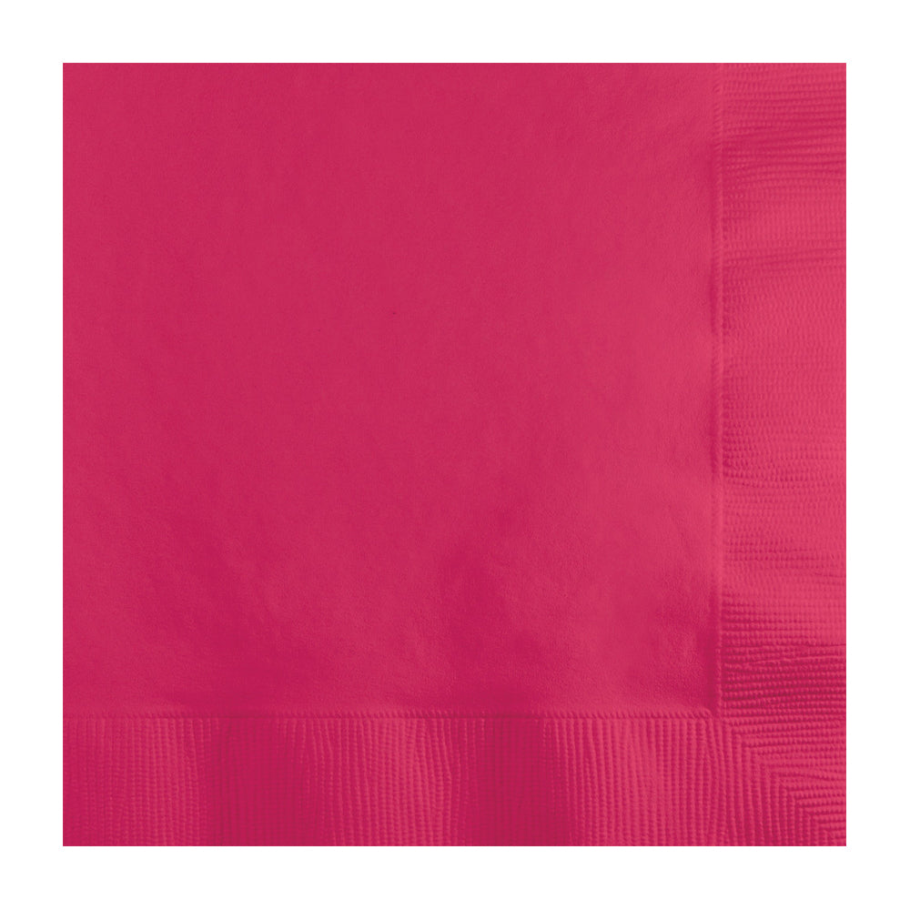 Bright Pink Lunch Napkins 20pk