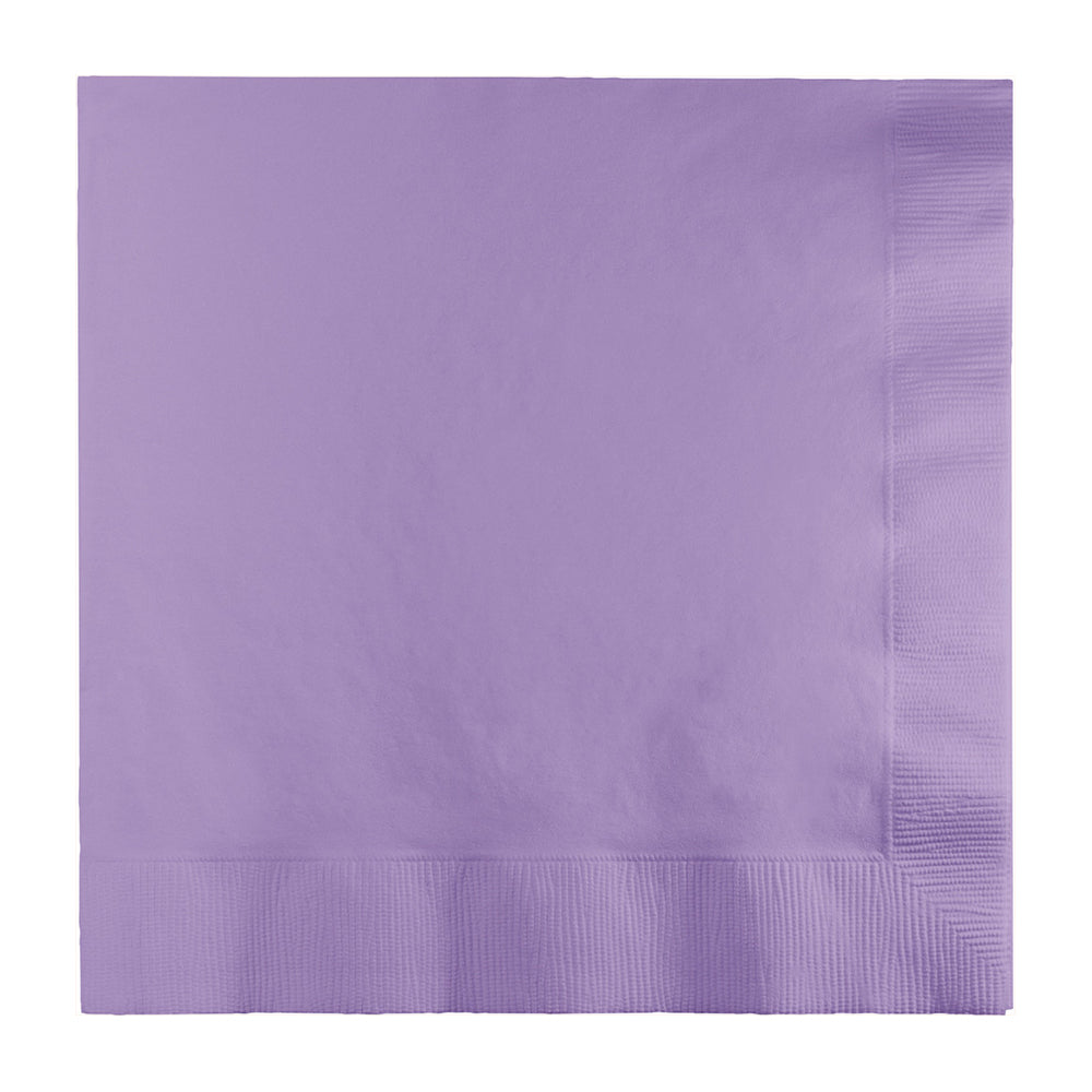 Lavender Lunch Napkins 33cm x 33cm 20pk - Party Savers