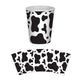 Cow Print Beverage Cups 266ml 8pk - Party Savers
