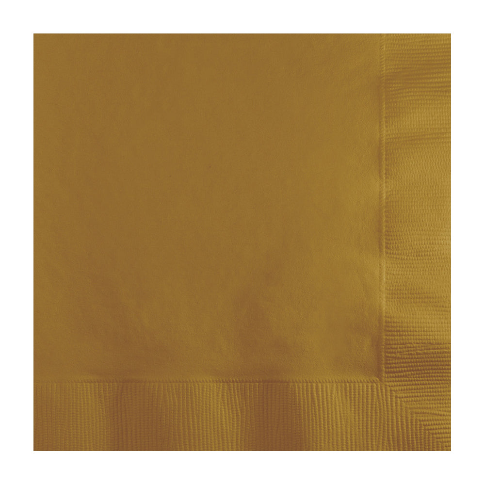 Gold Lunch Napkins 20pk