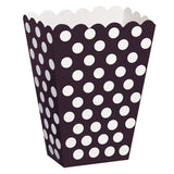 Lime Green Dots Treat Boxes 8pk
