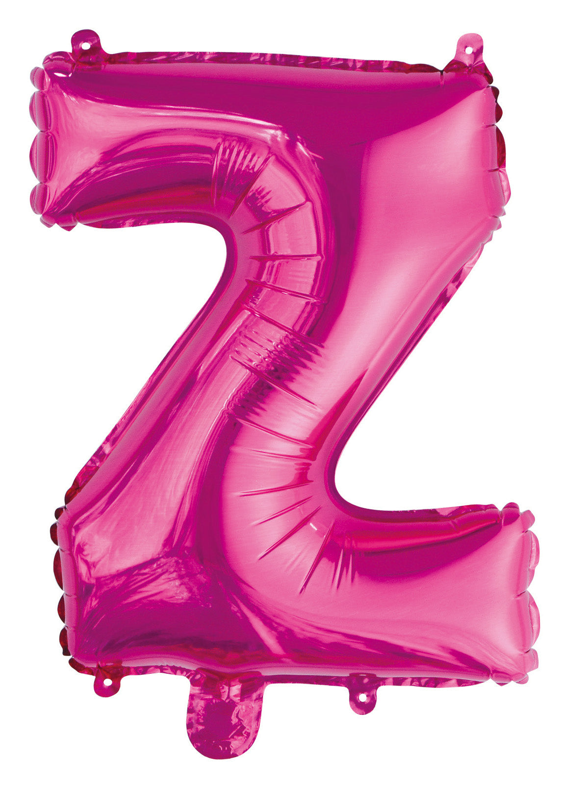 Letter Z Bright Pink Foil Balloon 35cm