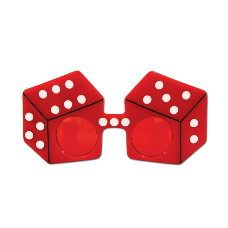 Red Dice Fanci-Frames Each - Party Savers