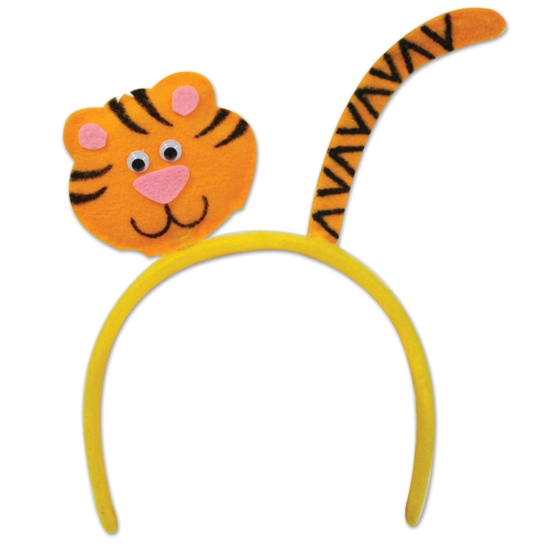 Tiger Headband Each - Party Savers