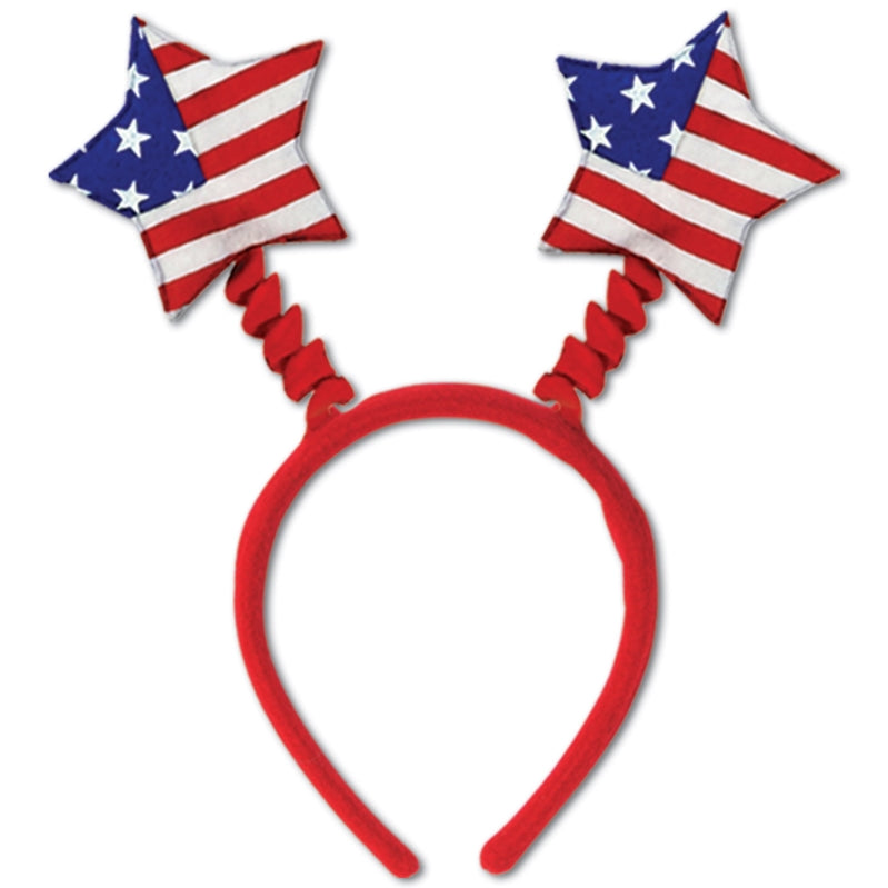 Patriotic Star Boppers Each - Party Savers